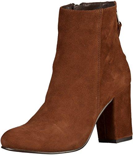 Spm Bendle Ankle Boot, Bottes mi-hauteur avec doublure chaude femme Marron foncé