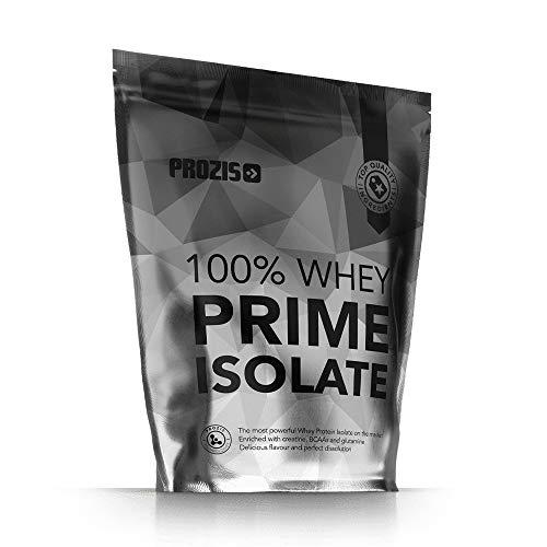 Prozis 100% Whey Prime Isolate 1000 g Erdbeere (Whey Verstärkt Protein)