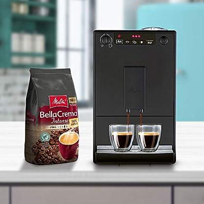 Melitta-Caffeo-Solo-E-950-222-Kaffeevollautomat-pure-black-Melitta-BellaCrema-Intenso-Ganze-Kaffeebohnen