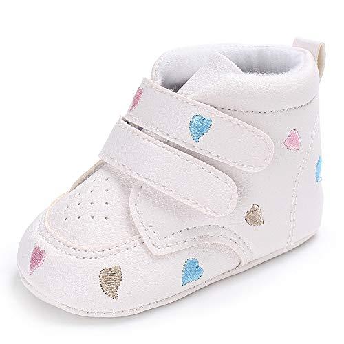 Zapatos de Bebe,❤️ Amlaiworld Infantil Recién Nacidos Bebé Niños Niñas corazón Bordado...