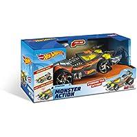 Mondo- Hot Wheels Monster Action Macchina per Bambini con Funzionamento a Frizione, Multicolore, 51202