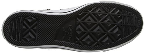 Converse Chuck Taylor Core Lea Ox 246270-55-3, Sneaker Donna Nero