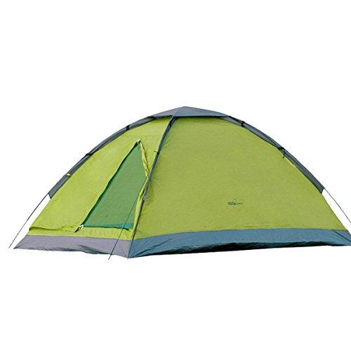 Camp Active Dome Zelt für 2 Personen ca. 185x120x100 cm (LxBxH) - Kuppelzelt in Grün