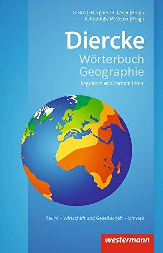 Diercke Wörterbuch Geographie - Ausgabe 2017