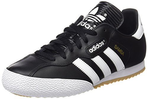 cheap for discount d56f7 e5aee adidas Mens Samba Super Trainers, (BlackRunning White Footwear), Size 12