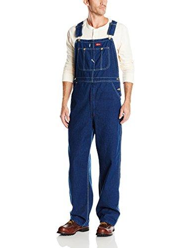 dickies-bib-overall-pantalones-para-hombre-tamano-40-32-color-indigo-desgastado