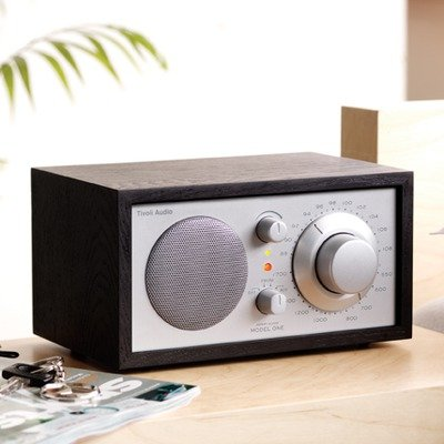 Tivoli Audio Model One AM/FM Tischradio Schwarz/Silber 4.5
