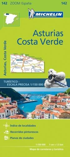 Asturias, Costa Verde (Michelin Zoom Maps) por Michelin