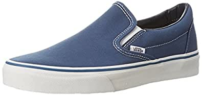Vans Classic Slip-On, Sneakers Basses mixte adulte, Bleu (Navy), 34.5 EU (2.5 UK)