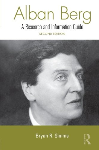Alban Berg (Routledge Music Bibliographies)