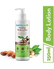 Mamaearth Healing Natural Body Lotion with Argan Oil Macad