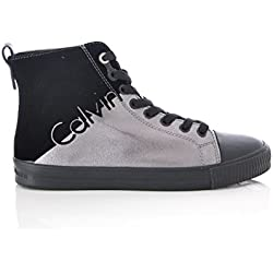 CALVIN KLEIN JEANS SNEAKERS DONNA DOTTY METAL R0640