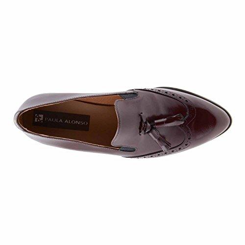 Chaussures en cuir avec des glands BURDEOS