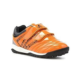Ascot Boys Orange and Black Astroturf Trainer - Size 12 Child UK - Orange