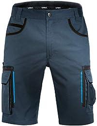 Uvex Tune-Up Pantalones Cortos de Trabajo | Pantalón Cargo | Bermudas con Multi - Bolsillos | Shorts Laboral | Grises - Negros - Azules - Verde