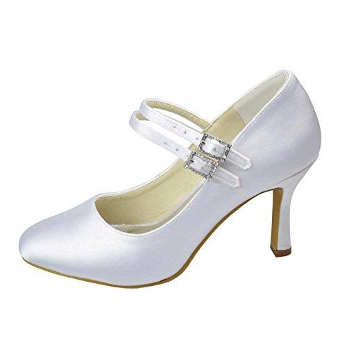 Kevin Fashion , Chaussure de mariée fashion femme Beige - marfil