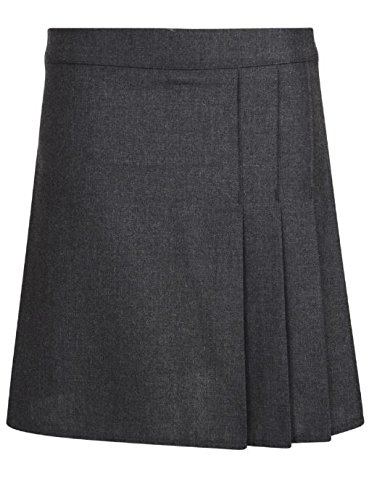 ex BHS Girls School Skirt BHS RRP 11 Black Grey 4-15 Years (5Y, Grey)