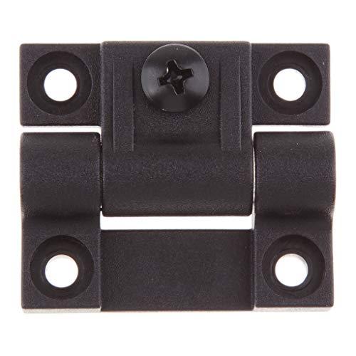 IPOTCH 1 Stück Positionssteuerungs scharnier Steuerung Schiebeschalter 4 versenkt Loch regelbar Drehmoment Wippschalter -