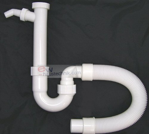 spulen-siphon-geruchsverschluss-flexibel-kurzbarer-ablaufschlauch-neu