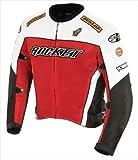 Joe Rocket Men's UFO 2.0 Mesh Motorcycle Jacket (Red, X-Large)