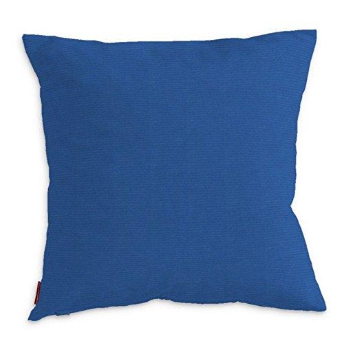 Dekoria Kinga Housse de Coussin 43 x 43 cm (43,2 x 43,2 cm) – Bleu