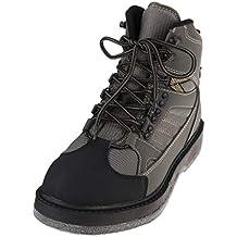3b20df9596f75 B Blesiya Zapatos Transpirable Fieltro Secado Rápido Suela Wader Botas Pesca  Anzuelos Noctilucentes Brillante en Oscuridad