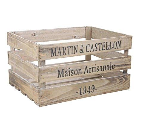 HolzKiste Kiste Martin et Castellon