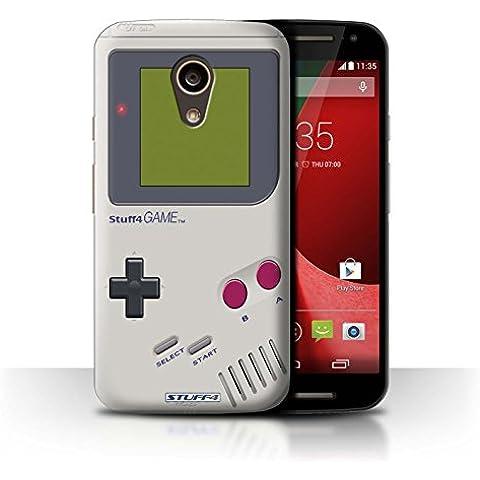 Stuff4 Hülle / Hülle für Motorola Moto G 4G 2015 / Nintendo Game Boy Muster / Spielkonsolen Kollektion