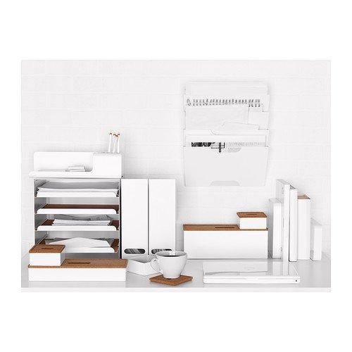 Ikea KVISSLE Briefablage in weiß