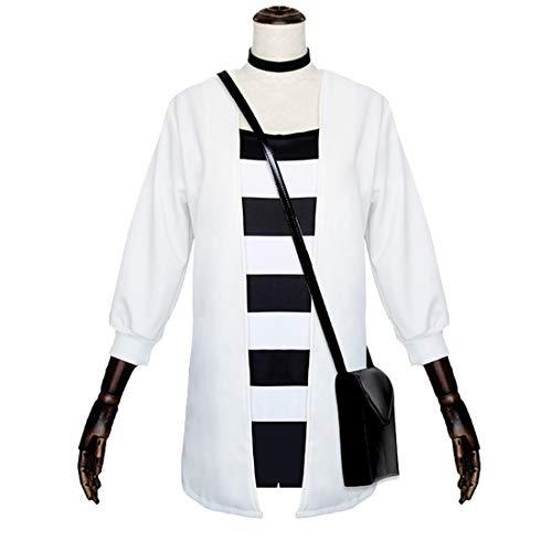 RL Engel des Todes Rachel Gardner Cosplay Kostüme Rachel Gardner Täglich volle Jacke T-Shirt japanischen Rucksack,Full Set-S