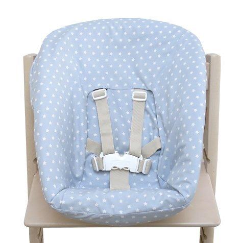 Blausberg Baby - Bezug für Stokke Newborn Set grau Sterne