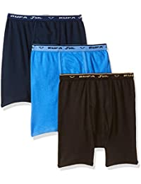 Rupa Jon Boy's Plain Brief (Pack of 3)(Colors & Print May Vary)