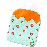Set von 2 modischen Mini Hot Water Flasche klassischen schönen Hot Water Bag, B8 preisvergleich bei billige-tabletten.eu