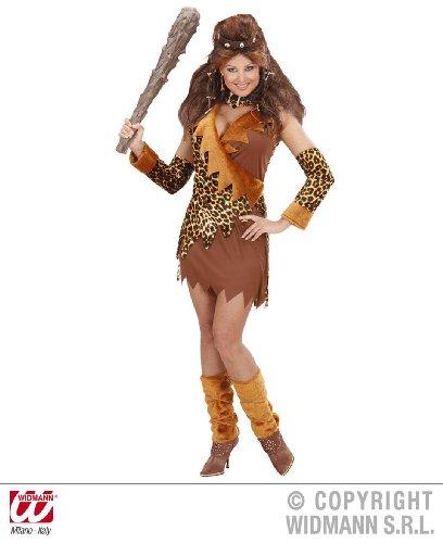 KOSTÜM - URWALDFRAU - Größe 38/40 (Kostüm Frauen Höhlenmensch)