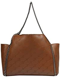 Stella McCartney Mujer 507185W84097773 Marrón Poliéster Bolso Tipo Shopper