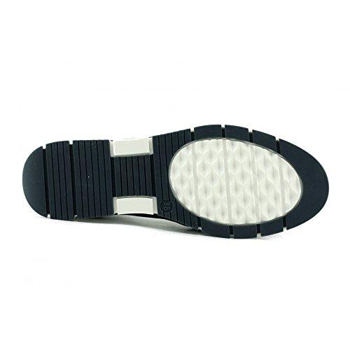 Friend - Mocassins Bleu Confortable Slip-on ultra souple antidérapantes - Aerobics C-Bleu