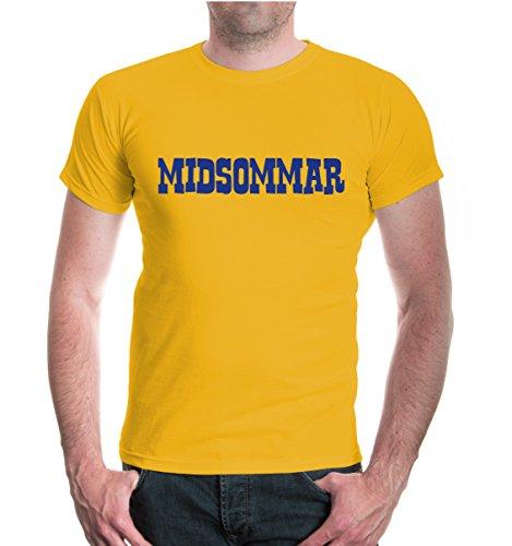 buXsbaum® T-Shirt Midsommar Sunflower-Royal