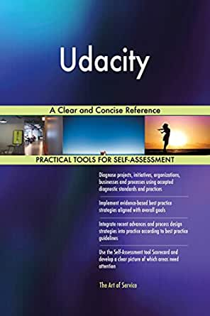 Udacity A Clear and Concise Reference eBook: Gerardus Blokdyk