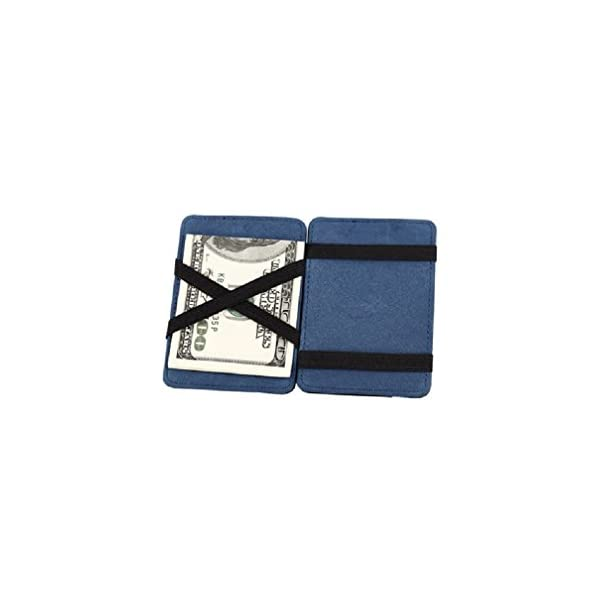 a2c64b36ca ... uomoPortafoglio Magico in simili cuoio – magic wallet Credit Card  Holder – porta moneta. 🔍. Accessori ...