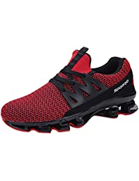 Zapatillas de Entrenamiento para Hombre Calzado Casual para Hombres Zapatos Deportivos Al Aire Libre De Malla Zapatillas Deportivas…