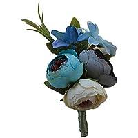 Baoblaze Rosen Hochzeitsanstecker Gasteanstecker Ansteckblume