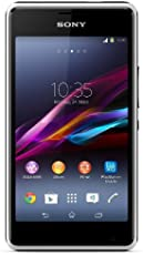 Sony Xperia E1 Smartphone (10,2 cm (4 Zoll) TFT-Display, 1,2GHz Dual-Core, 3 Megapixel Kamera, Android 4.3) weiß