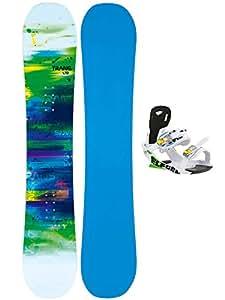 Unbekannt Herren Snowboard Set TRANS LTD Man 161W + Eco white XL 2015