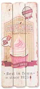 Cadre en bois Cupcake - 34,5 cm (M1)