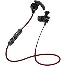Tefamore Auricular inalámbrico Bluetooth 4.1 auriculares estéreo de deportes auriculares intrauditivos