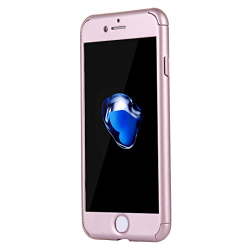 FBA-iPhone 8, 7 360 Degree Combination Case - Rose Gold Gold