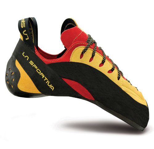 LA SPORTIVA SCARPETTA TESTAROSSA -AVVOLGENTE PERFORMANTE Red/Yellow