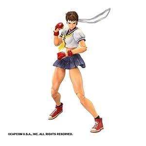Figura Street Fighter Play Arts Sakura 25 cm 7