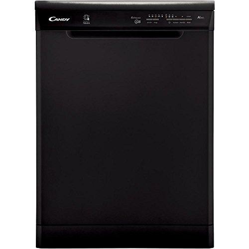 41aa5nF%2B38L. SS500  - Candy 15 Place full-size Dishwasher Black - CDP1LS57B