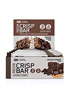 Optimum Nutrition ON Protein Crisp Bar Low Carb High Protein Riegel mit Whey...